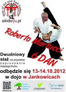 Staż z sensei Roberto Martucci 13-14.10.2012